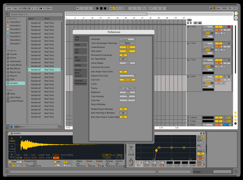 Live 9 - Defined Theme for Ableton 10 by x39
