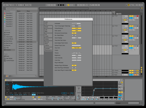 Default Live 9 - REDONE Theme for Ableton 10 by iamLennart
