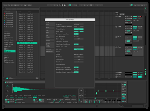 Nuendo Theme for Ableton 10 by vigarimic