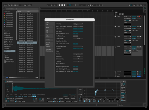Deep Teal Theme for Ableton 10 by Lance Jordan