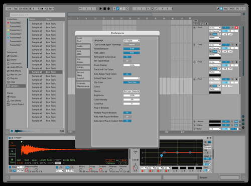 LeocelMINI III Theme for Ableton 10 by Leocel