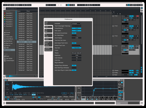 Cool grey Theme for Ableton 10 by lucy kay