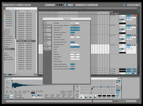 Geeniux 2 Theme for Ableton 10 by Geeniux