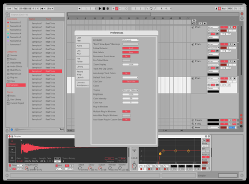 Light Red - Darker Theme for Ableton 10 by Almy