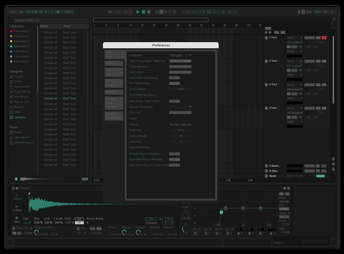 Dark Green Theme for Ableton 10 by version.onee