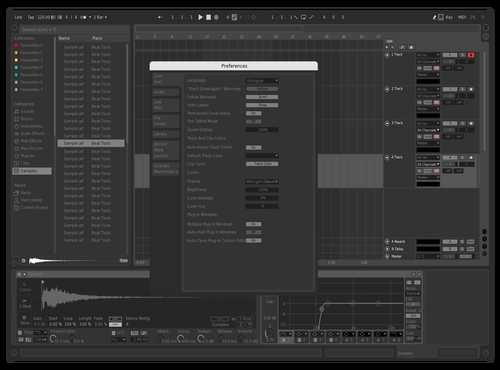 Remake Theme for Ableton 10 by P