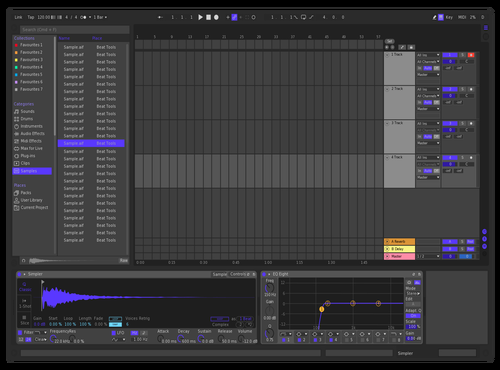 Purple Theme for Ableton 10 by Ableton Themes
