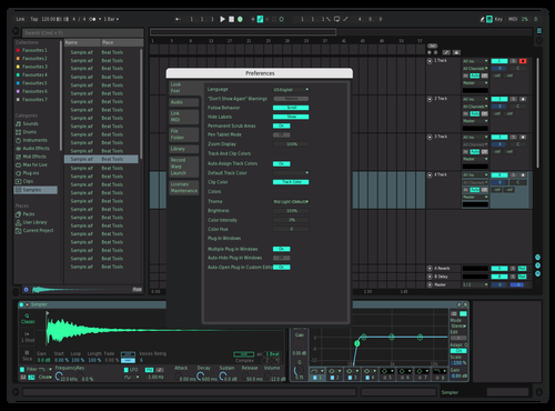 Dark Mint Theme for Ableton 10 by matuu_eb