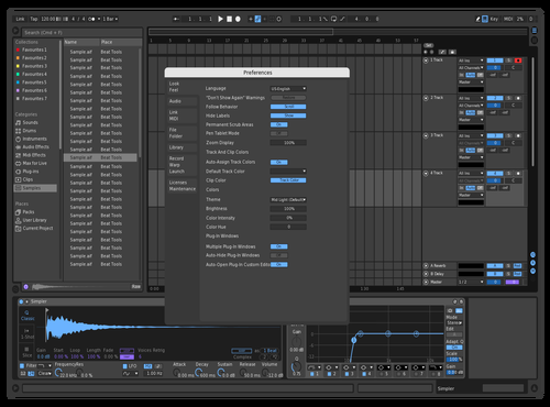 Submotion Dark Remix Theme for Ableton 10 by Submotion