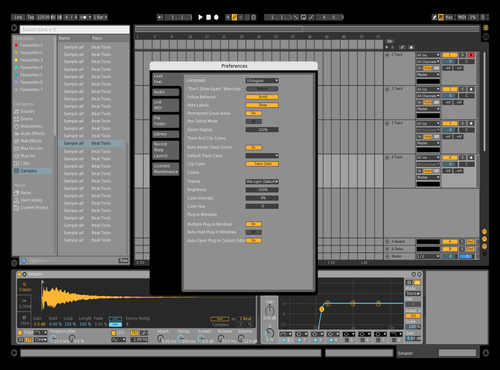 ClearDark Theme for Ableton 10 by A-Dog