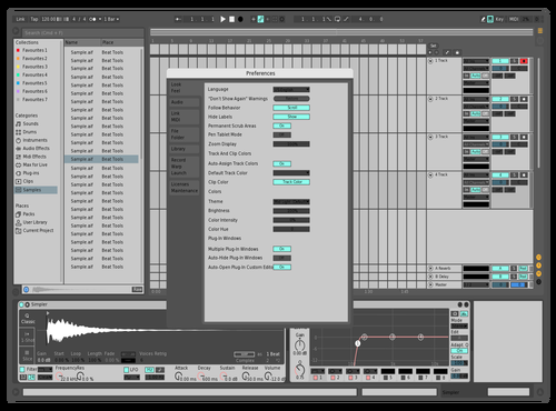 SeanX2 Theme for Ableton 10 by Sean Crossan