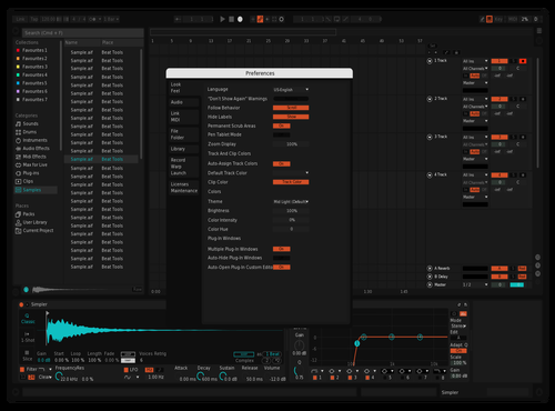 Yes Theme for Ableton 10 by sagiv