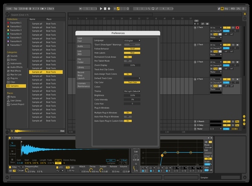 Yellow Edit Theme for Ableton 10 by Tobias Ungerböck