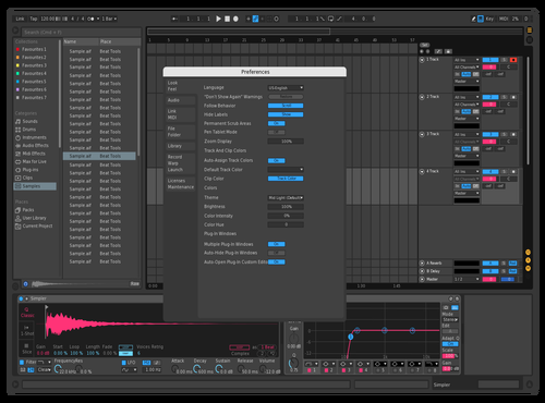 Pink & Blue Theme for Ableton 10 by JorgeBeats