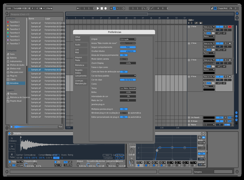 Bss azul Theme for Ableton 10 by brunos