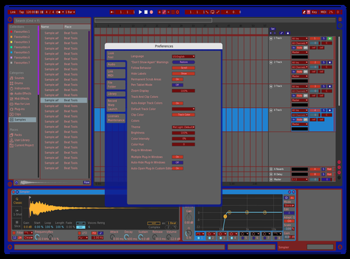 Grimmo63@gmail.com Theme for Ableton 10 by John Grimshaw