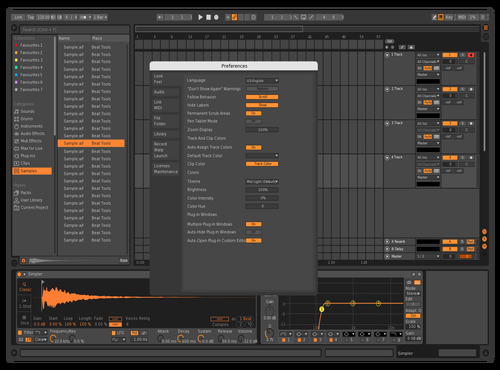 Bitwig contrast Theme for Ableton 10 by DigitalMess