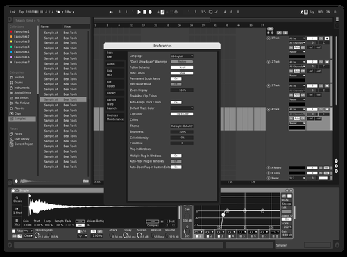 True Black and White Theme for Ableton 10 by ich_hab_keine_email@byom.de
