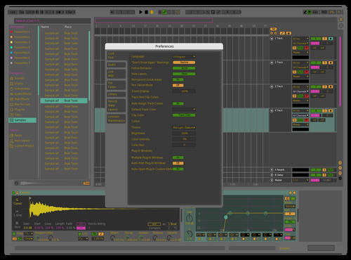 Gammer Theme for Ableton 10 by Michael Dicker