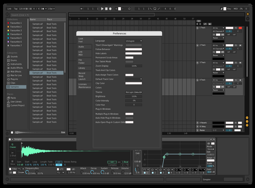 OCH Theme for Ableton 10 by Ons Chamakhi