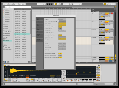 Contrast Theme for Ableton 10 by niels poensgen
