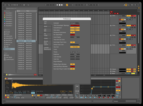 Test Theme for Ableton 10 by David Lang