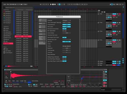 BetterLight Theme for Ableton 10 by Zac
