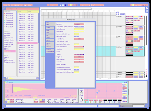 SuperKawaii Theme for Ableton 10 by lucy kay