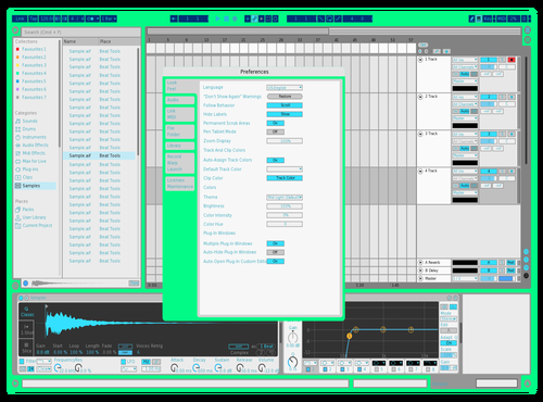 MintSkin Theme for Ableton 10 by Will N.