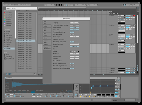 Graylight1 Theme for Ableton 10 by david