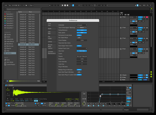Riot Theme Parody Theme for Ableton 10 by UnviZz
