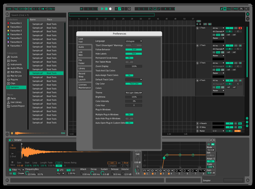 Almy One Theme for Ableton 10 by Almy