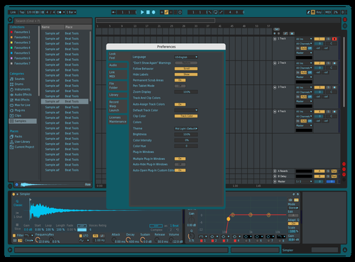 M0NOLYTH Theme for Ableton 10 by Josue Martinez Sr.