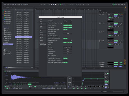 Adsd Theme for Ableton 10 by Nas