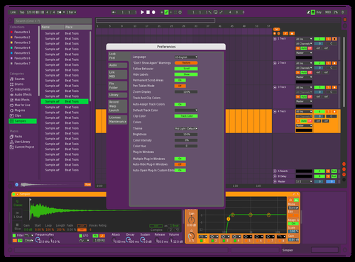 EVA-01 Theme for Ableton 10 by AozorA