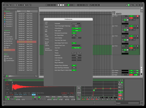 Laro Theme for Ableton 10 by Laro