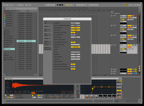 Test Theme for Ableton 10 by julijet60