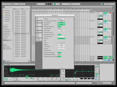 RainFOREST Theme for Ableton 10 by Simply Drew