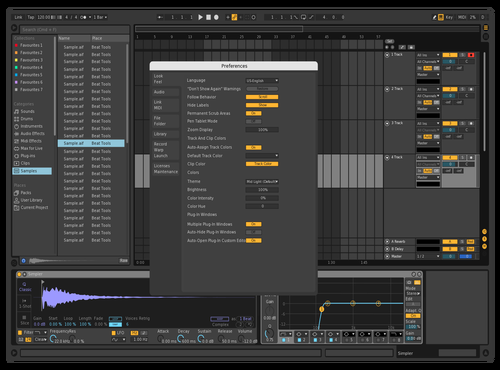 Darker & Brighter Theme for Ableton 10 by Sage