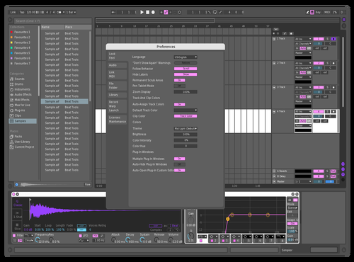 WIP Theme for Ableton 10 by Aaron