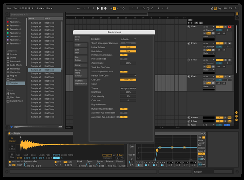 Tiny Bit Darker Theme for Ableton 10 by Arran