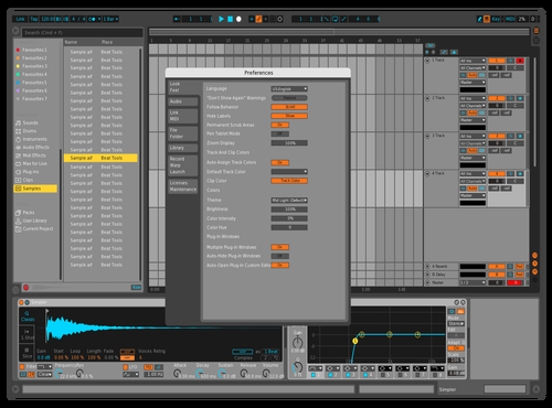 BITWIGER Theme for Ableton 10 by ajet