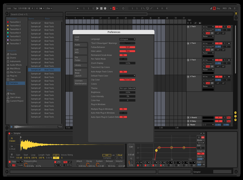 Enginerror Theme for Ableton 10 by Enginerror