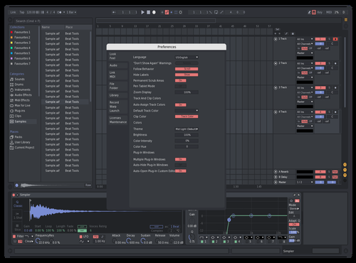 Custom Theme for Ableton 10 by stsa