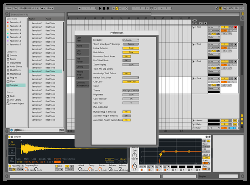 LIGHT SUN Theme for Ableton 10 by Live