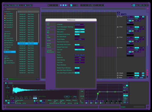 Shadow Final Version Theme for Ableton 10 by Harrison Brink