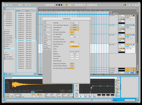 Alextheme3 Theme for Ableton 10 by Alex