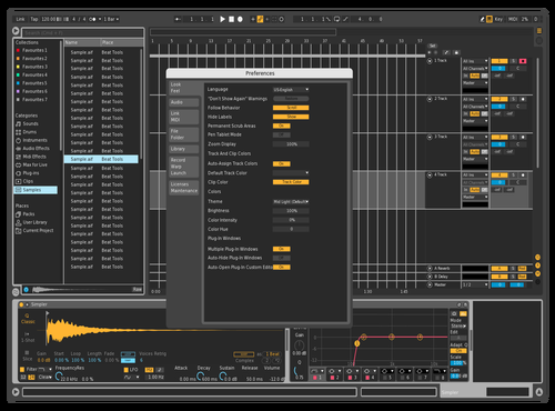 Dark GRID Theme for Ableton 10 by Leon Cornelisse