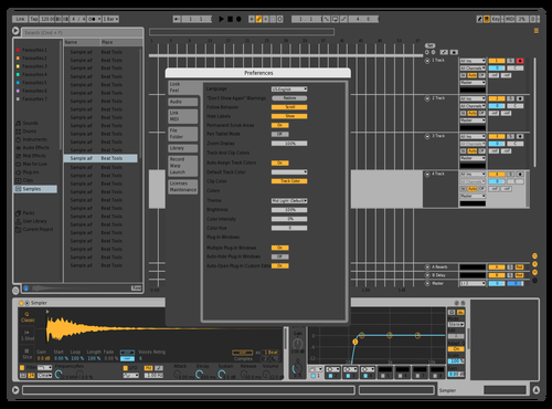 Light Gridlines check Theme for Ableton 10 by Leon Cornelisse