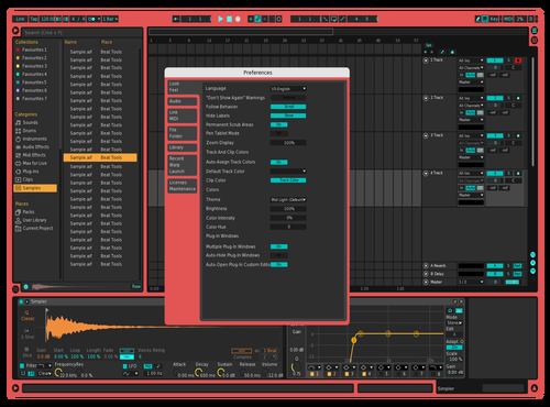 Terminal Default Theme for Ableton 10 by Ben